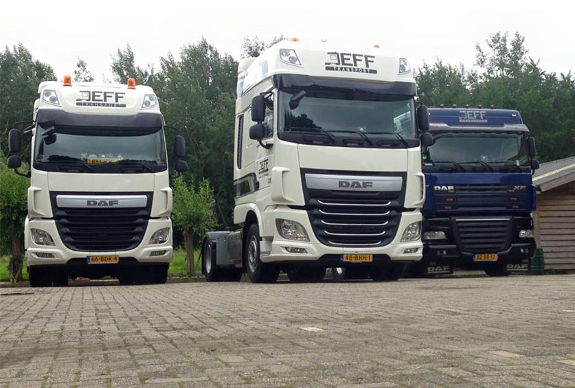 Transport DAF euro 6